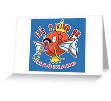 PokéPun - 'It's A Kind Of Magikarp' Greeting Card