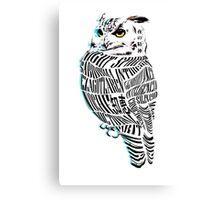 Night Spirit  - OWL Canvas Print