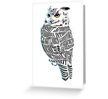 Night Spirit  - OWL Greeting Card