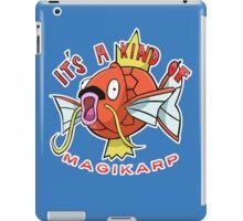 PokéPun - 'It's A Kind Of Magikarp' iPad Case/Skin