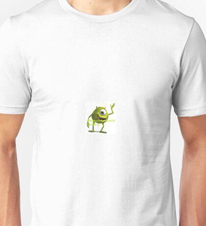 > aika hyvin hei yhdellä silmällä :D Unisex T-Shirt