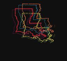 louisiana pride blur Unisex T-Shirt