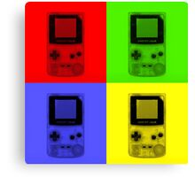 Gameboy Colour-Small Canvas Print