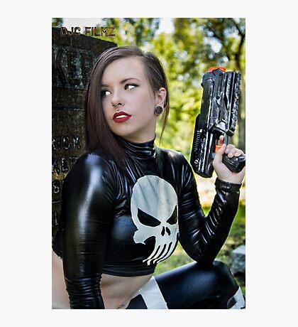 Ash Smashem Punisher 2 Photographic Print