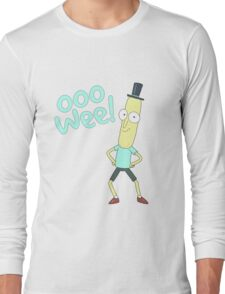 Mr pooptbutthole- Rick and Morty Long Sleeve T-Shirt