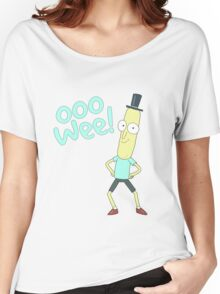 Mr pooptbutthole- Rick and Morty Women's Relaxed Fit T-Shirt