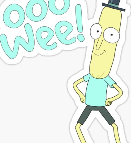 Mr pooptbutthole- Rick and Morty Sticker