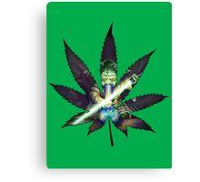 Anti Marijuana Canvas Print