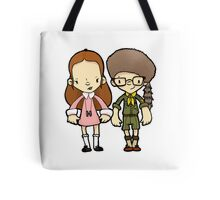 We're in love. We just want to be together. What's wrong with that? Tote Bag