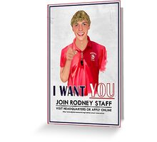 I Want You for Rodney Scout Reservation Greeting Card