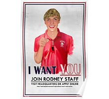 I Want You for Rodney Scout Reservation Poster