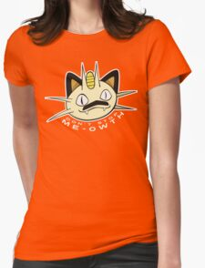 PokéPun - 'Don't Stop Me-owth' Womens Fitted T-Shirt