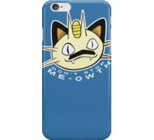 PokéPun - 'Don't Stop Me-owth' iPhone Case/Skin