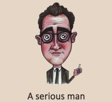 A Serious Man by Iddoggy