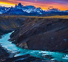 Dark River Canyon by Inge Johnsson