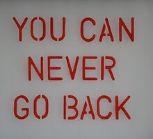 You Can Never Go Back by Tracy Duckett