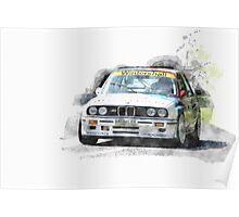 Warsteiner BMW M3 Poster