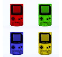 Gameboy Colour-Small Photographic Print