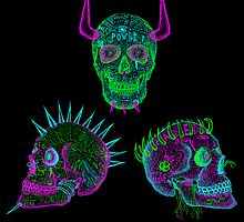 the skull of hate trilogy by cavia
