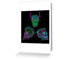 the skull of hate trilogy Greeting Card