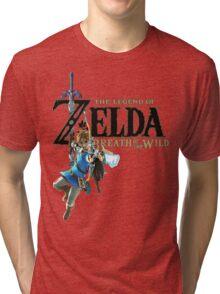 Breath of the Wild - The Legend of Zelda Tri-blend T-Shirt