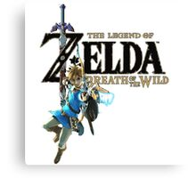 Breath of the Wild - The Legend of Zelda Canvas Print