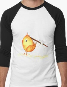 Chick. I peep Men's Baseball ¾ T-Shirt