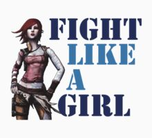 Fight Like a Girl (Borderlands) by potterstinks