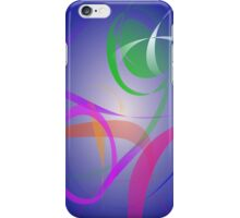 Green Flower Abstract Image iPhone Case/Skin
