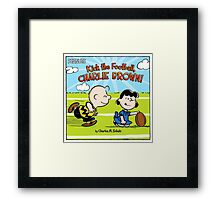 PEANUTS SUPERBOWL Framed Print