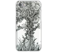 Elegance,  Ink Tree Drawing iPhone Case/Skin