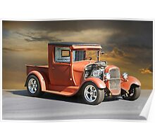 1929 Ford Model A Pick-Up 'Prime Time' Poster