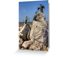 Morecambe Cormorants Greeting Card