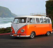 VW 'Surfer' Bus II by DaveKoontz