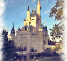 Cinderella Castle by Lightrace