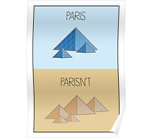 Parisn't - Piramids Poster
