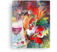 We Love Chianti Canvas Print