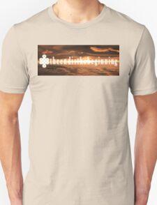 "theendisthebeginning - ""so long, shadow"" T-Shirt"