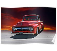 1956 Ford F100 Stepside II Poster