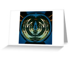 Color Abstraction LXX Greeting Card