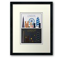 Londoff - Skyline Framed Print