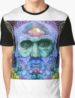 PSYCHEDELIC Old men Graphic T-Shirt