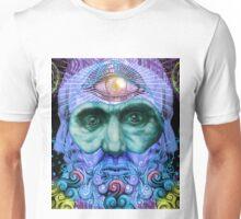 PSYCHEDELIC Old men Unisex T-Shirt
