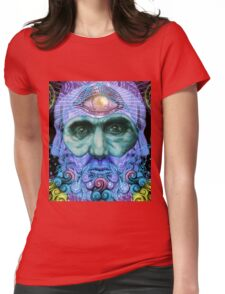 PSYCHEDELIC Old men Womens Fitted T-Shirt