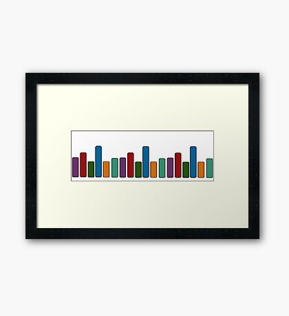base bars Framed Print