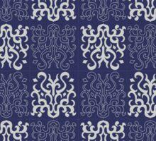 Pattern Navy Blue Sticker