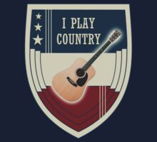 I play country Kids Tee