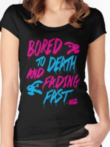 Bored To Death Women's Fitted Scoop T-Shirt