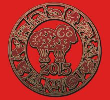 Chinese Year of The Sheep Goat 2015 One Piece - Long Sleeve