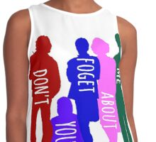 Don't You Forget About Me Contrast Tank